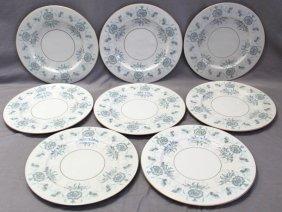 8 Castleton Caprice Large Dinner Plates
