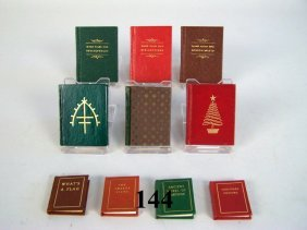 Miniature Books Black Cat Press