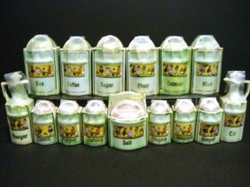 Miniature Canister Set