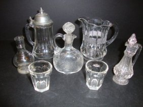 Child's Banded Portland Water Set Etc.
