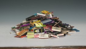 Collection Of Match Boxes