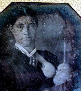 Daguerreotype Of A Woman Breastfeeding