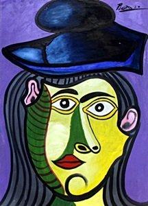 Buste De Femme - Oil On Paper - Pablo Picasso