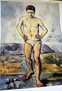 Lithograph After Swimmer