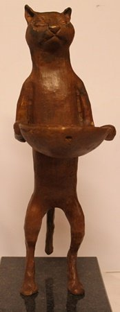 Feline Servent - Bronze Sculpture - Rufino Tamayo
