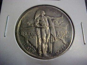 1926 Oregon Trail Comm Half Dollar.