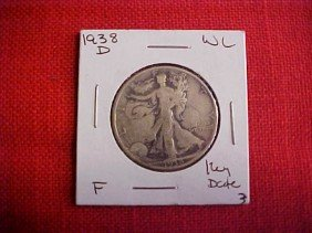 1938-D Half Dollar