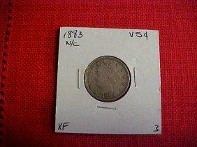 1883 V Nickel