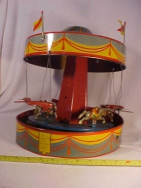 Early Tin Merry-Go-Round