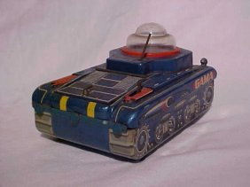 Tin Litho Gama Tank Toy