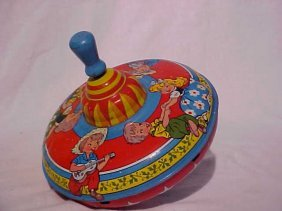 Tin Litho Toy Top