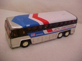 1979 Buddy L Corp. Tin Litho  Greyhound Bus
