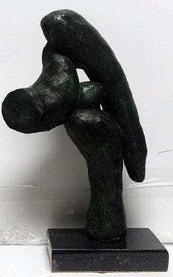 Patina Bronze Sculpture After Pablo Picasso