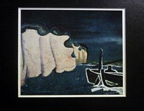 Lithograph - Braques Sur La Place - Georges Braque