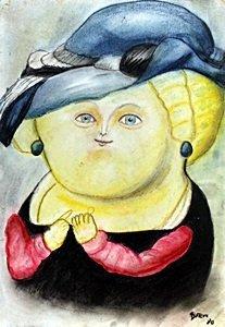 Dona Franchesca - Fernando Botero