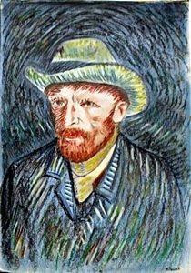 Selfportrait - Vincent Van Gogh