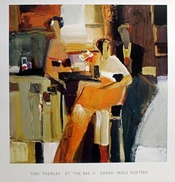 Print - At The Bar Ii - Yuri Tremler