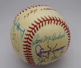 1969 New York Mets Signed Baseball