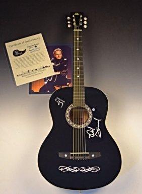 Neil Diamond Signed Guitar