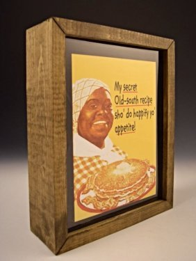 Aunt Jemima Advertising Sign
