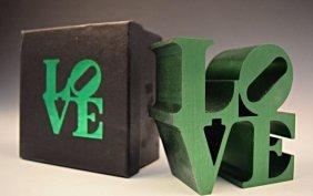 Robert Indiana Love Sculpture
