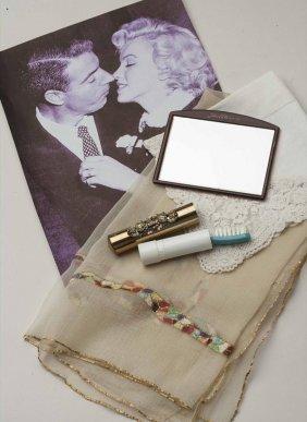 Marilyn Monroe's Personal Scarf, Toothbrush, Mirror