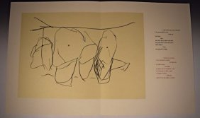 Robert Motherwell Lithograph