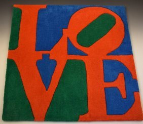 Robert Indiana Tapestry