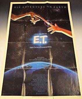 1982 E.t. Original Poster