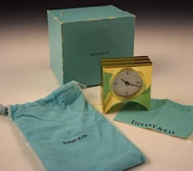 Tiffany & Co Clock