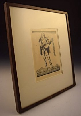 Rockwell Kent Signed