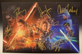 Star Wars Cast Signed Photograph