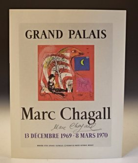Marc Chagall Signed