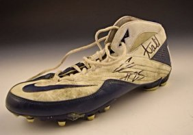 Denver Broncos Game Worn Cleat