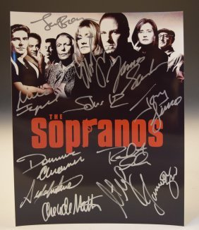 The Sopranos Signed Photo