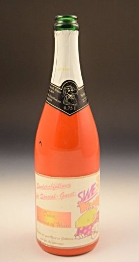 Princess Diana Champagne Bottle