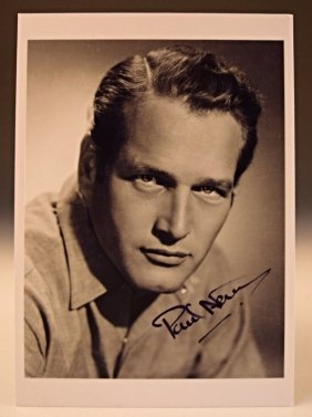 Paul Newman Signed Photograph