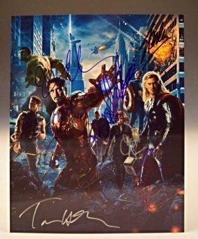 Marvel's The Avengers Cast Signed Photo