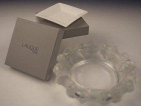 Lalique Ashtrays