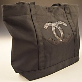 Chanel Black Tote Handbag