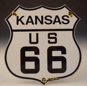 Us Route 66 Vintage Sign