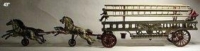 Hubley Ladder Wagon