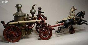 Hubley Horse Drawn Pumper