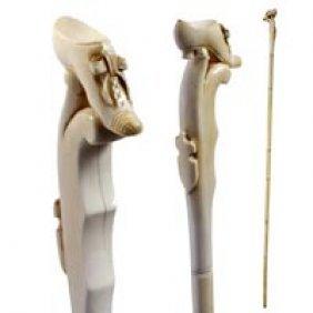 Carved Ivory Shoe