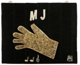"""Wesley Stewart-""""Micheal Jackson Glove'. Paint And G"""