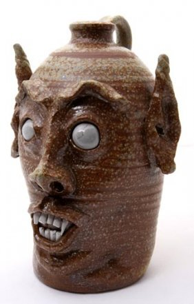 "Jeremy Davis, ""Blind Eyed Devil"". Fired And Glazed"
