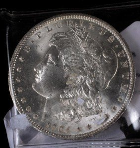 4. 1904 Silver Dollar