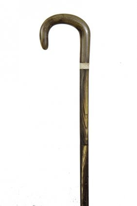 80. Horn Dress Cane- Ca. 1925- A Segmented Horn Dress