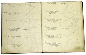 218. Cane Designers Original Drawings Binder Book