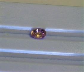 0.87ct Oval Shape Pink Sapphire Dimension- 6.6x4.7x3.3